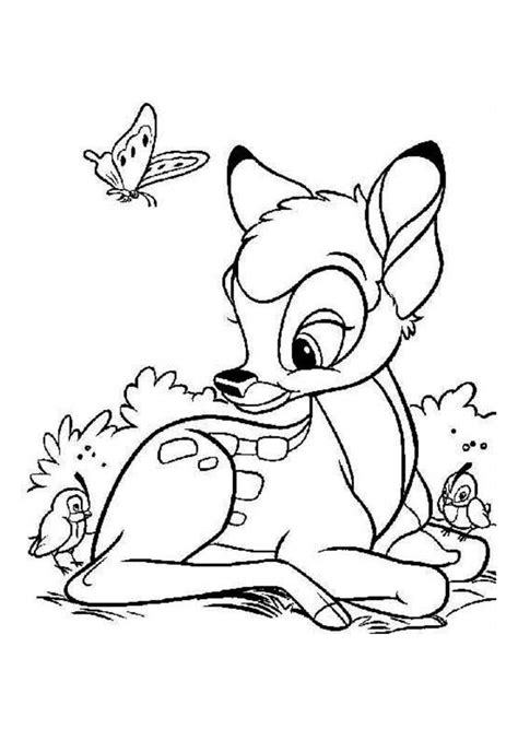 bambi coloring pages pdf coloriage bambi disney 5 jpg dans bambi coloring pages