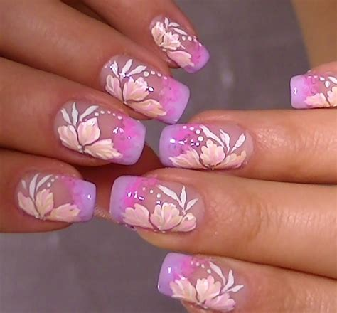 video tutorial nail design delicate nail art video tutorial sweet flower design youtube