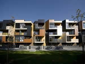 Garage With Apartment Above Modern Urban Tetris Apartments Architecture Designs