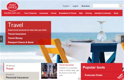 Post Office Travel Insurance by Post Office Uk Buy Direct From Post Office For Special