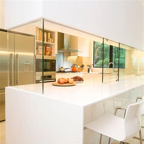 Semi Open Kitchen Concept by Home Dzine Kitchen Closing An Open Plan Kitchen Or