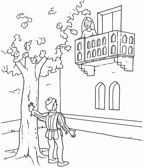 Romeo And Juliet Coloring Pages   Coloring Home