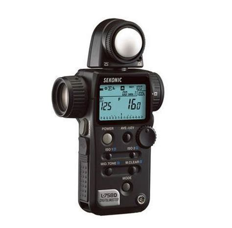 sekonic professional photographic light meter multi