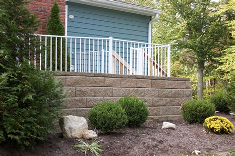 Landscape Timbers Cincinnati Walls 171 Environments Residential Landscaping