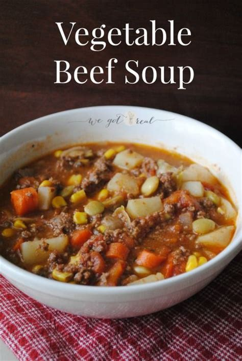 vegetable beef soup recipe best vegetable beef soup