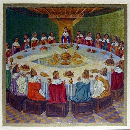 les 12 principaux chevaliers de la table ronde ma 238 tre les voyages d h il