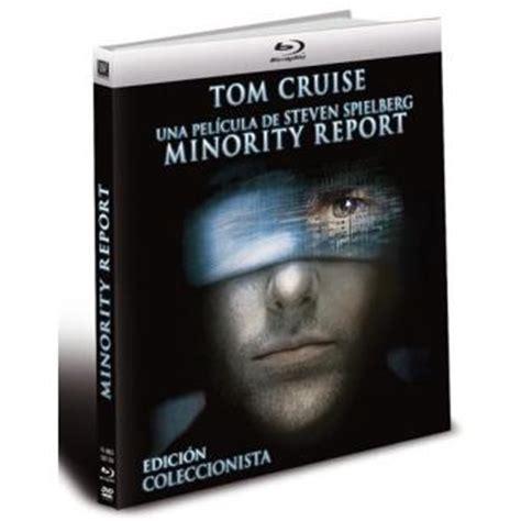 minority report blu ray review steven spielberg tom cruise minority report blu ray dvd libro musica y cine