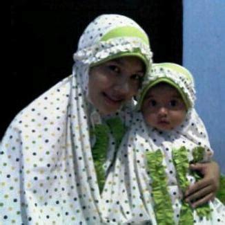 Mukena Ibu Dan Anak Green mukena seragam ibu dan anak toko bunda