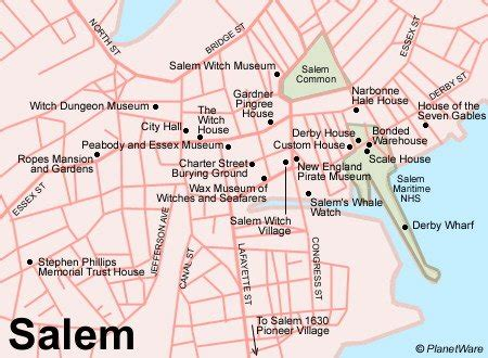 salem usa map 12 top tourist attractions in salem and cape