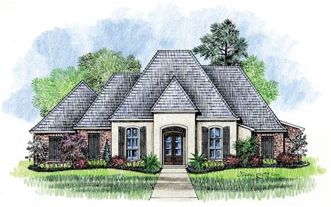 french country house designs welsh country french home plans louisiana house plans