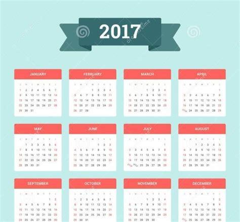 Calendario Completo 2017 Calend 193 2017 Feriados Completo