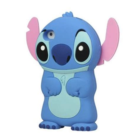 Disney Lilo Stitch Experiment Iphone 4 4s 5 5s 5c 6 6s 7 Plus 3d iphone 3 hoesje in accessoire voor mobiele telefoon