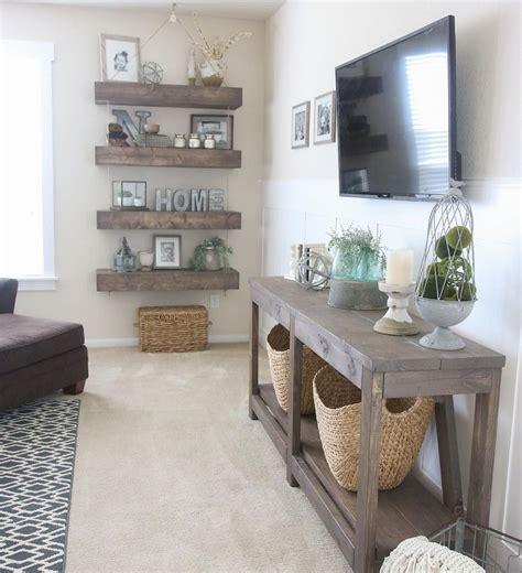 beautiful modern farmhouse living room decor ideas 25