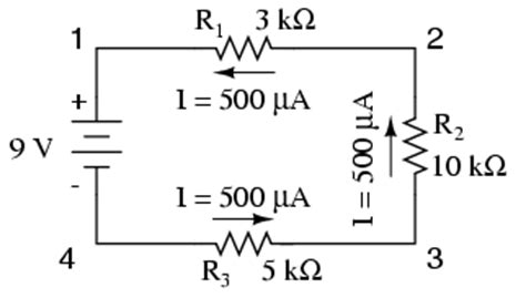 simple resistor circuits voltage drop lessons in electric circuits volume i dc chapter 5