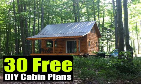 free cabin plans small cabin building plans free diy cabin plans