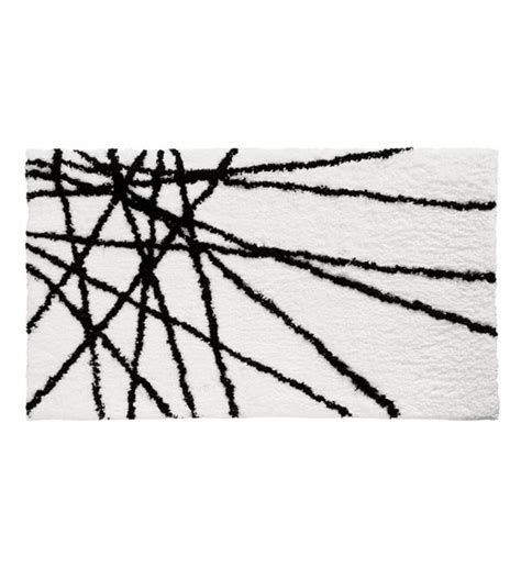 black and white bathroom rug abstract microfiber accent rug black and white in bathroom rugs