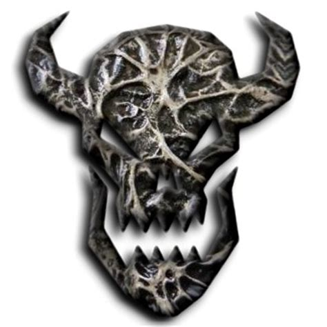 horror logo generator create scary  demon logo
