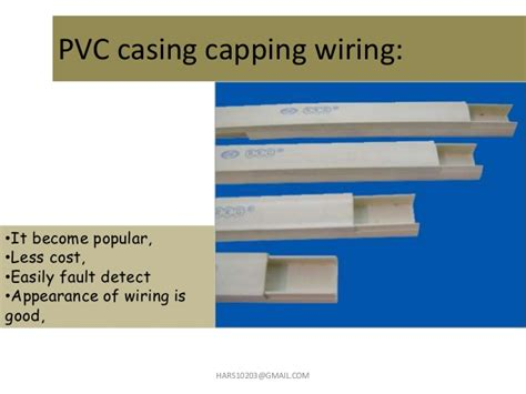 casing capping home wiring domestic wiring