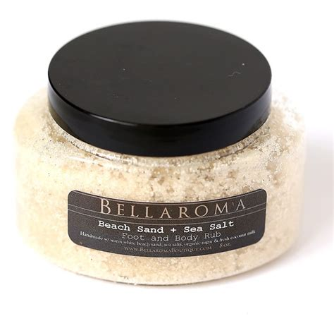 And Sea Salt Rub And Sea Salt Scrub scrubs