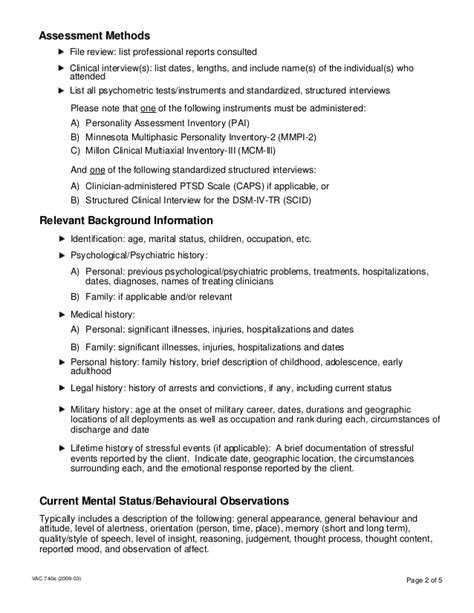 psychological assessment sle report sle of evaluation report 28 images sle of