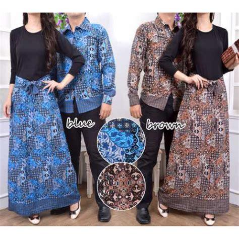 Baju Batik Muslim Biru lucia dunia baju pusat