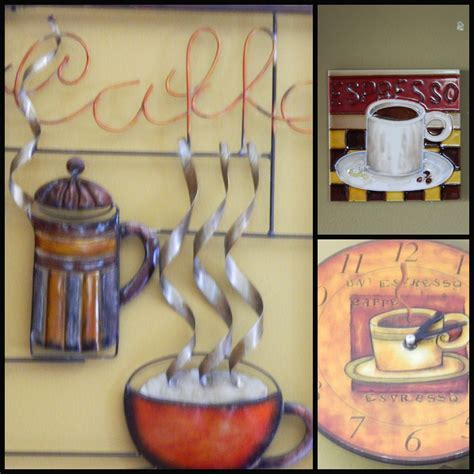 coffee themed kitchen wall decor coffee themed kitchen
