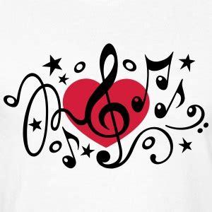 imagenes de notas musicales en forma de corazon camisetas notas musicales spreadshirt