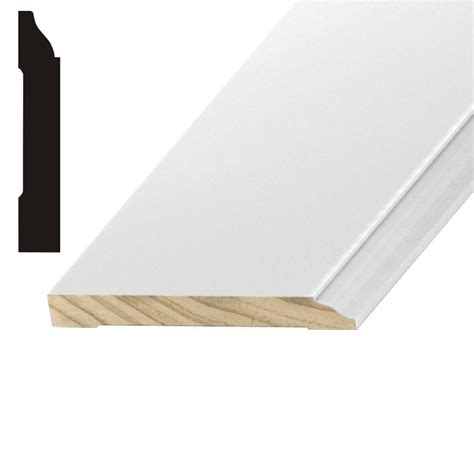 kelleher lwm623 1 2 in x 5 1 4 in mdf base moulding