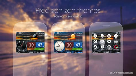 nokia themes zen precision zen theme c3 00 x2 01 asha 302 320x240 s406th