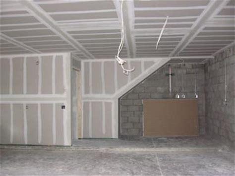 Garage Drywall by Mon Garage Appartement July 2008