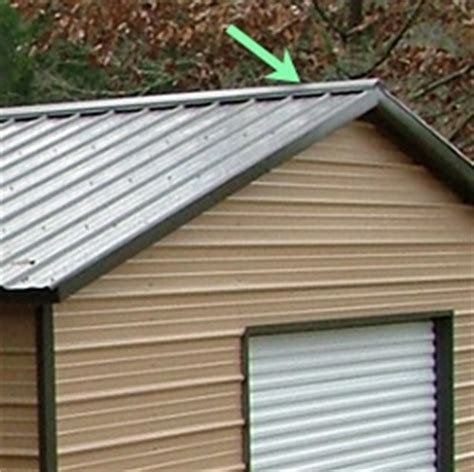 Shed Roof Ridge Cap by Ridge Cap Building Systems