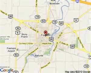 Fremont Ohio Map by Fremont Ohio