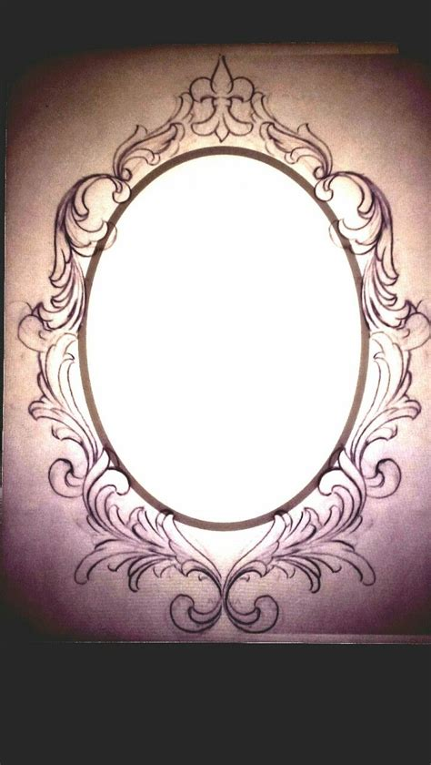 frame tattoo frame drawing www pixshark images galleries