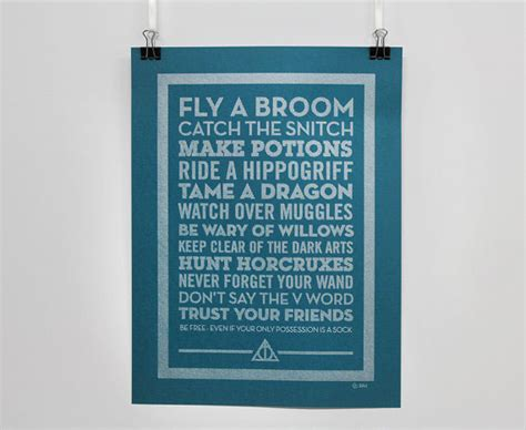 sign tames a books a pen poster harry potter on behance