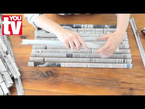What Makes Paper - tip make a basket out of newspaper