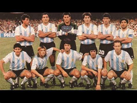 mundial italia 1990 seleccion argentina