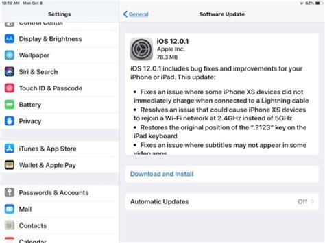 Iphone Update 12 1 Ios 12 0 1 Update Released For Iphone Ipsw Links