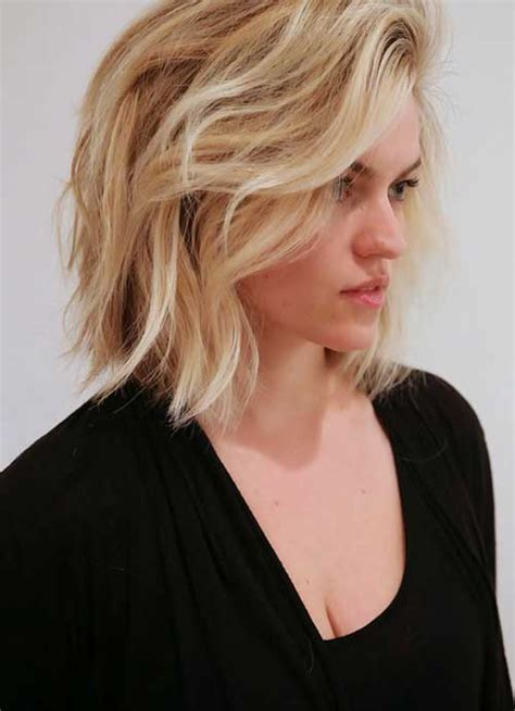 bobs for wavy hair 25 best long wavy bob hairstyles bob hairstyles 2017