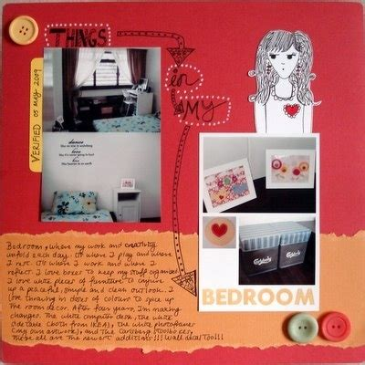 things in my bedroom in things in my bedroom scrapbooking idea everything about scrapbooking