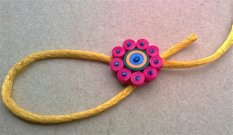 How To Make Rakhi With Paper - 5 creative rakhi ideas make handmade rakhi wiki how