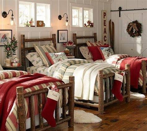 50 stylish christmas bedroom d 233 cor ideas family holiday