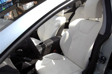 Tesla Seats Tesla Unveils The Model S Sedan Lexus Is Forum