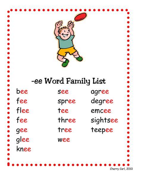 ee pattern words ee word list worksheet ixiplay free resume sles