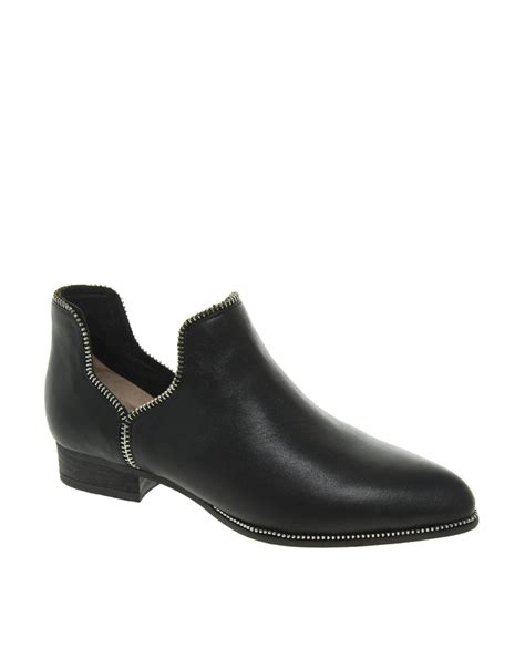 senso bertina cut out ankle boots in black lyst