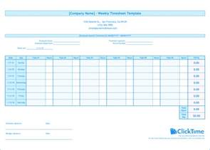 time tracking template weekly timesheet template free excel timesheets clicktime