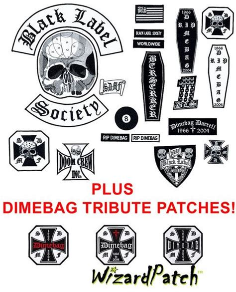 Blacklabel Rock Band Motorhead Glow In The Motorhead 005 M 22 best new releases images on bands bands and patches