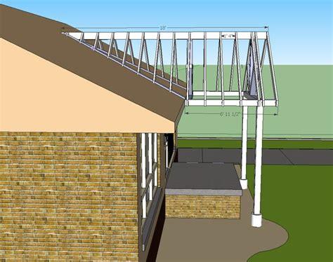 building a gable dormer in home designer pro open gable patio cover design building a gable end porch