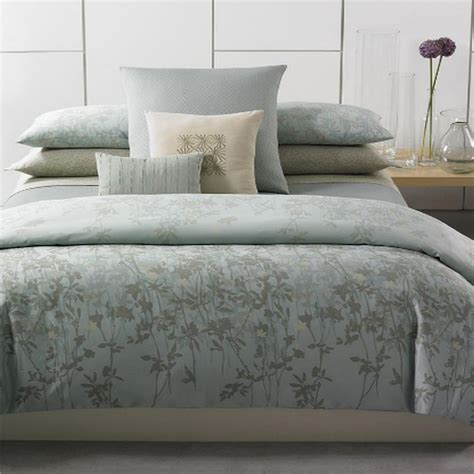 Calvin Klein Bed Set Calvin Klein Marin Duvet Cover Set Peat Sky Ebay