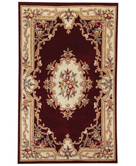 kenneth mink wool rugs closeout kenneth mink rug empress aubusson burgundy 4 rugs macy s