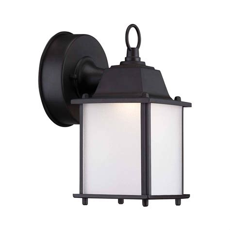 Discount Outdoor Wall Lighting Outdoor White Led Wall Lantern Hb7024 06 Canada Discount Canadahardwaredepot